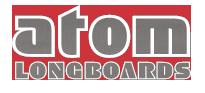 Logo Longboard Hersteller Atom Longboards
