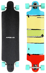 Apollo Maui Colour Longboard Design Rollen türkis