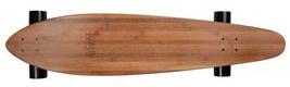 Pintail Longboard Jucker Hawaii Makaha mit schwarzen Rollen