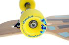 loaded tan tien longboard rollen gelb