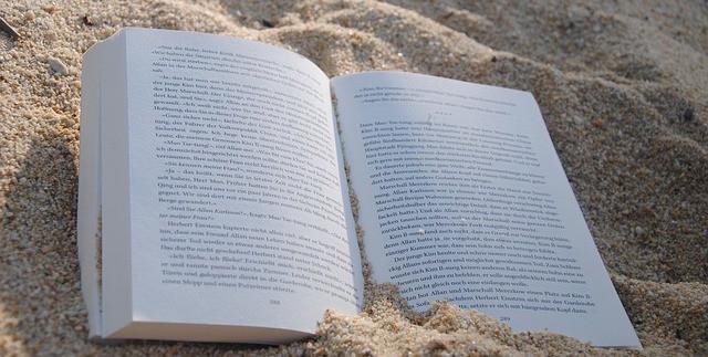 Longboard Buch am Strand